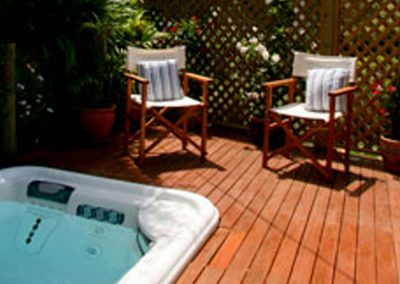 Garden Suite - outdoor spa
