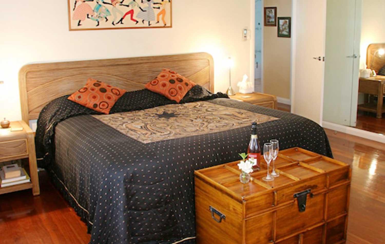 Scotland Island Lodge B&B Pittwater Suite Bedroom