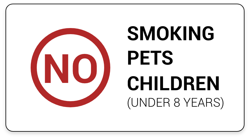 NO SMOKING OR PETS